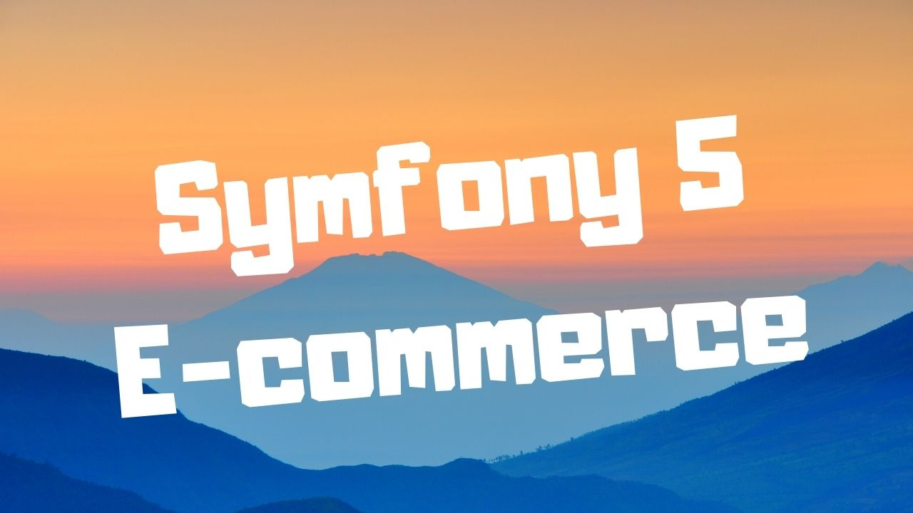 Nouvelle formation Symfony 5